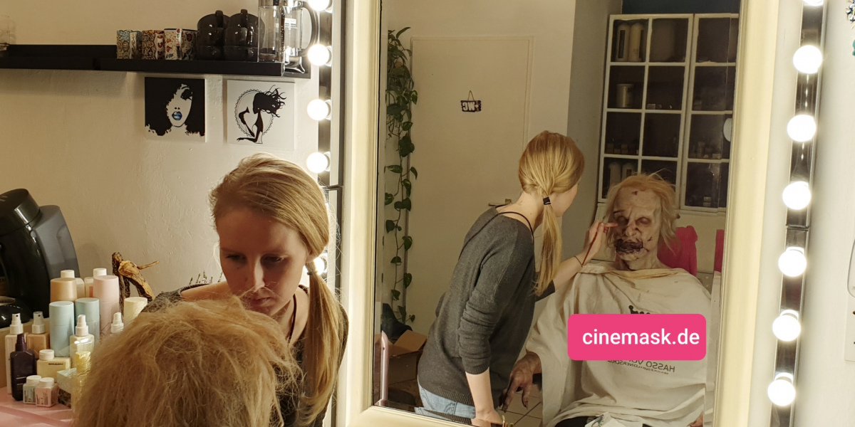 JWL Make-Up & SFX Zombie making-of